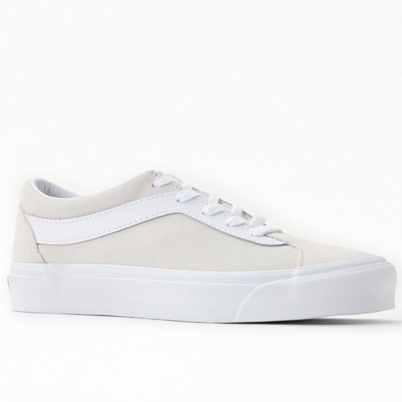 Vans Off White Suede Bold Ni Shoes
